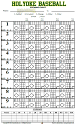 baseball pitching chart template - pitching charts for softball free