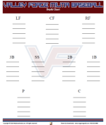 football depth chart template word